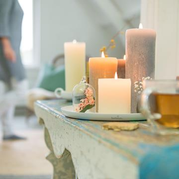 The familiar block candles in various heights and diameters as well as ball candles household candles and extra large candles theres always a candle to